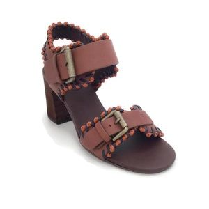 See by Chloé Tan Instep Strap Sandals